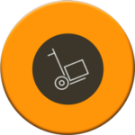Servicio de carrito para mover mercancías